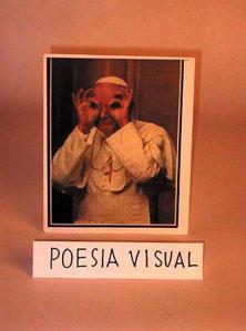 Poesia visual Artefacto _ Nicanor Para El papa _parra2