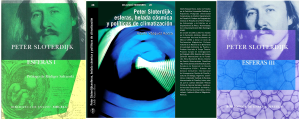 Portada _Libro ESFERAS _ Libro Esferas _ Peter Sloterdijk _ Por Adolfo Vasquez Rocca D .Phil _ Trilogía Esferas